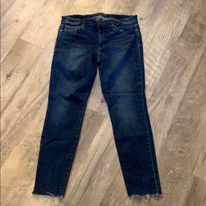 Joe's Jeans Skinny Ankle Raw Edge Jean 21